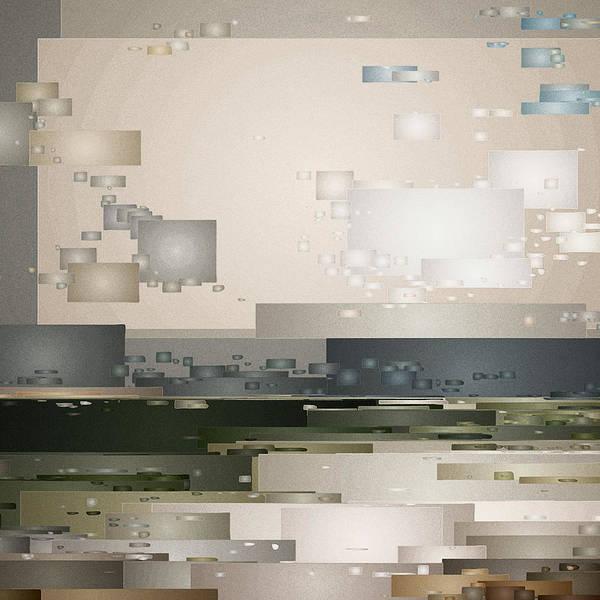 Digital Art - A Cloudy Day by David Hansen