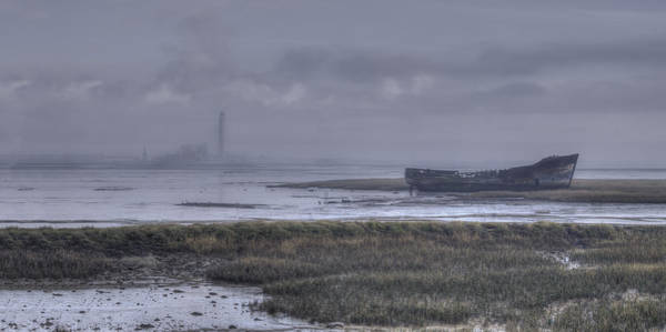 Medway Wall Art - Photograph - A Cold And Misty Morning On The River by Nigel Jones