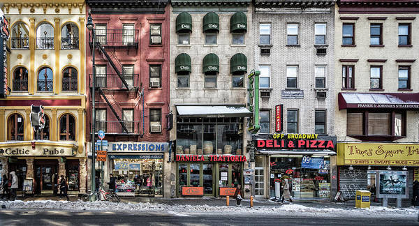 Facade Photograph - A Cold Day In Ny by Peter Pfeiffer