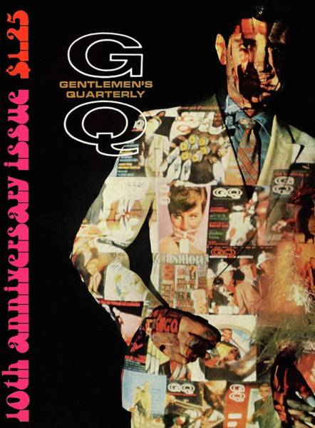 Photograph - A Collage Of Gq Covers by Leonard Nones