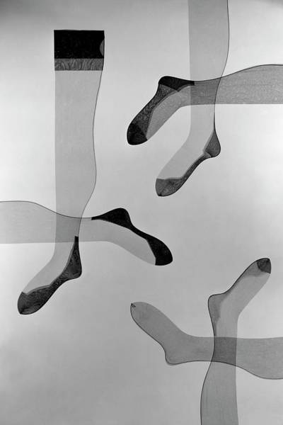 Photograph - A Collage Of Stockings by Herbert Matter