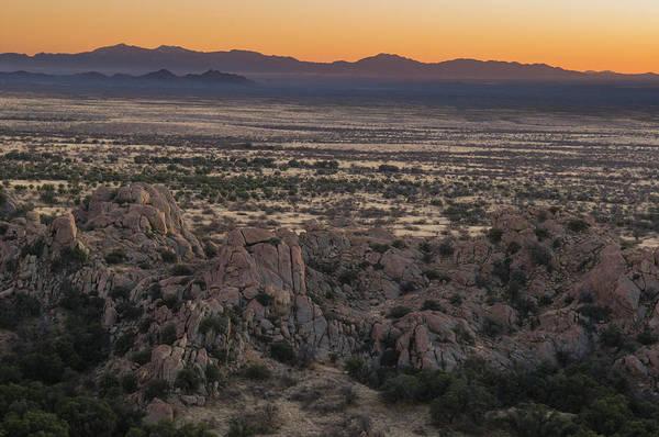 Tombstone Arizona Photograph - A Colorful Desert Sunset by Kennan Harvey