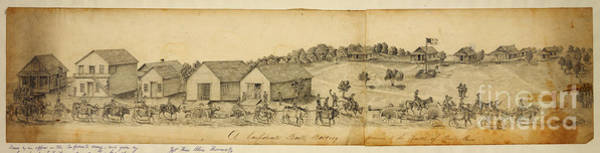 Wall Art - Drawing - A Confederate Bull Battery Previous To The Battle Of Bull Run by Celestial Images