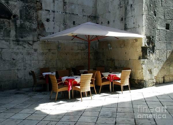 Photograph - A Cool Corner In Croatia by Mel Steinhauer