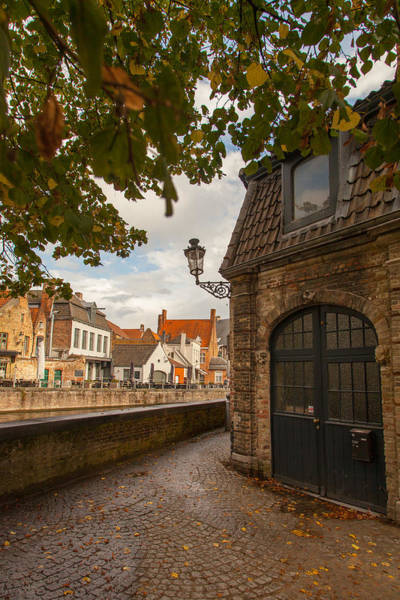 Town Square Wall Art - Photograph - A Corner In Bruges by W Chris Fooshee