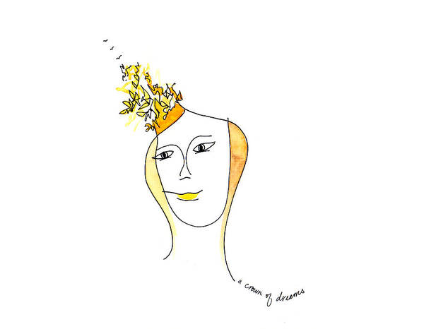Painting - A Crown Of Dreams by Anna Elkins