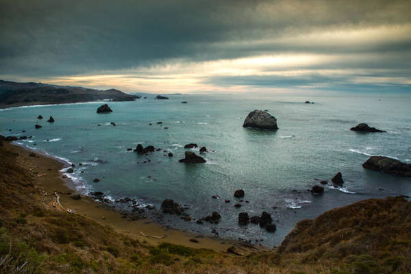 Photograph - A Dark Day At Sea by Bryant Coffey