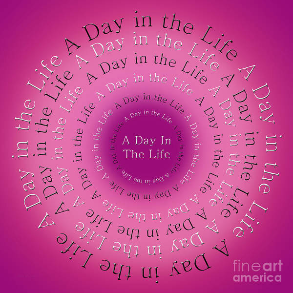 Wall Art - Digital Art - A Day In The Life 1 by Andee Design