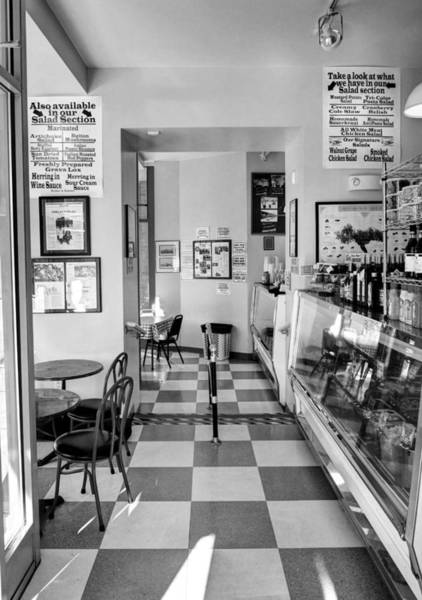 Findlay Market Photograph - A Delightful Deli Bw by Mel Steinhauer