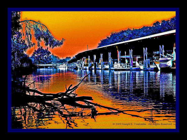 Digital Art - A Delta Sunset  by Joseph Coulombe