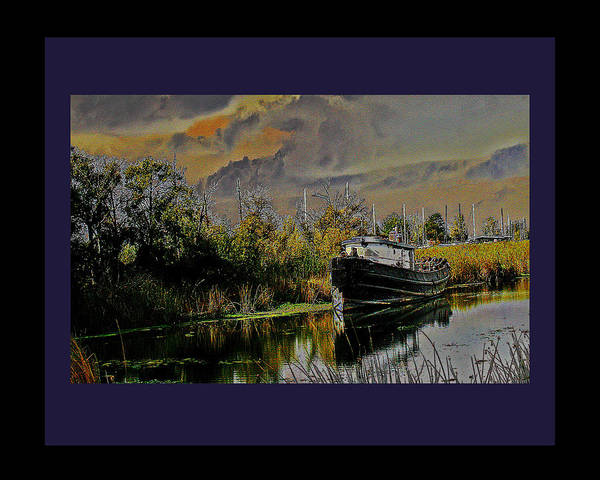 Digital Art - A Delta Tug Forgotten by Joseph Coulombe