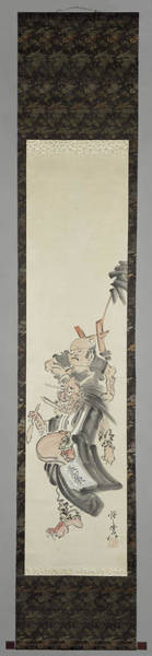 Wall Art - Painting - A Devil As A Mendicant, Kawanabe Kyosai, 1850 - 1889 by Litz Collection
