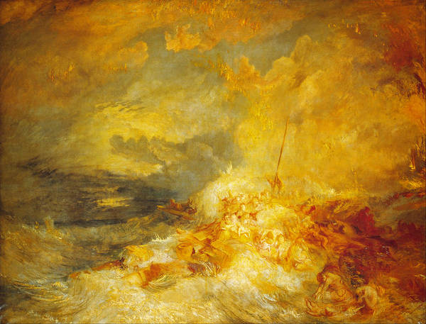 Painting - A Disaster At Sea by Celestial Images