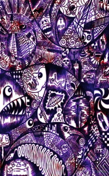 Digital Art - A Disturbing Dream by Matt Lindley