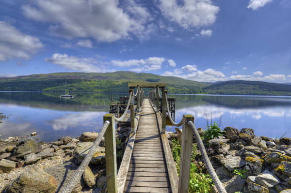 Photograph - A Dock Out To Loch Tay by Matt Swinden