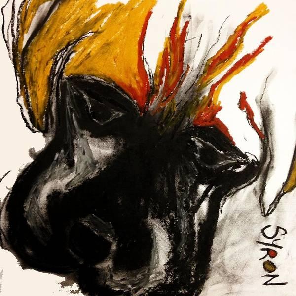 A Dog Called Flame Art Print