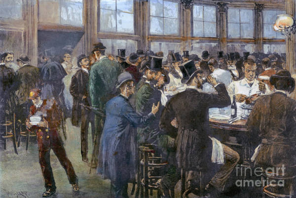 Photograph - A Downtown Lunchroom by Granger