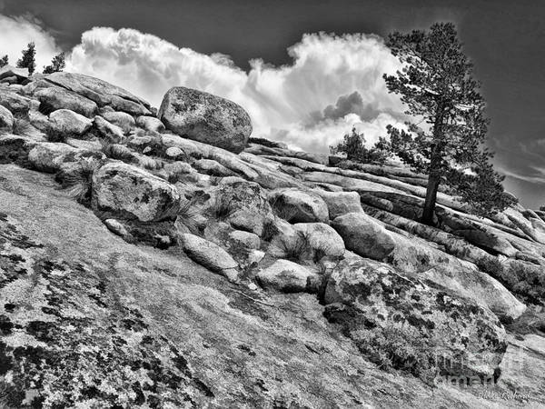 Photograph - A Downword Flow Of Rocks by Blake Richards