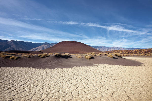 Inyo Mountains Photograph - A Dry Lonely Place by Eric Lowenbach