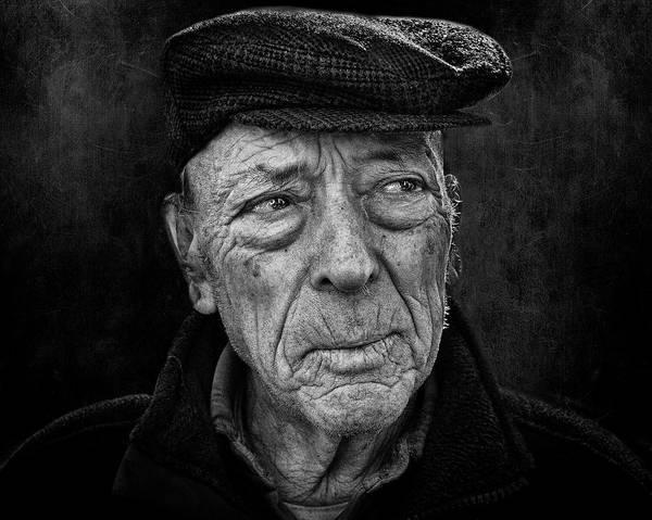 Men Wall Art - Photograph - A Face! A Life Story! #2 by Rui Ribeiro