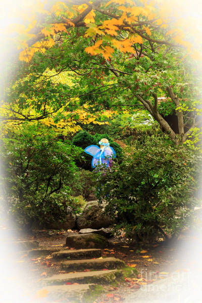 Photograph - A Fairy In The Woods by James Eddy