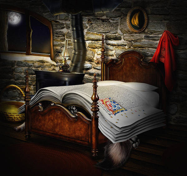 Digital Art - A Fairytale Before Sleep by Alessandro Della Pietra