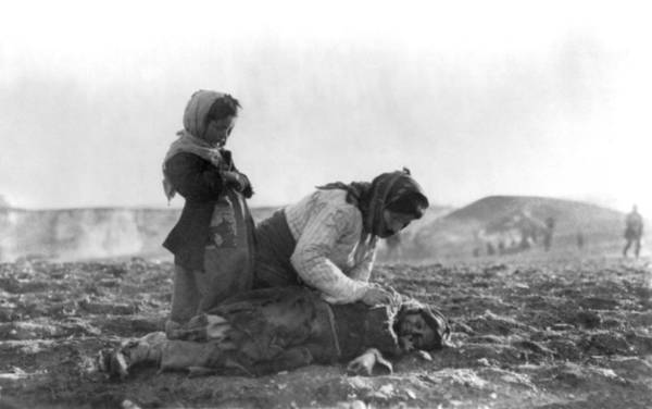 Photograph - A Family Dram During Armenian Genocide by Celestial Images
