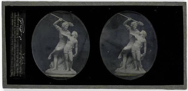 A Figurine Of James Pradier, S Marchi Art Print