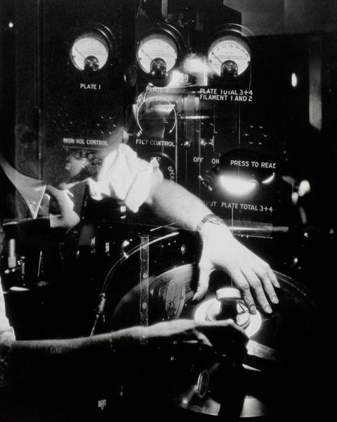 Male Body Photograph - A Film Projectionist by Irving Browning