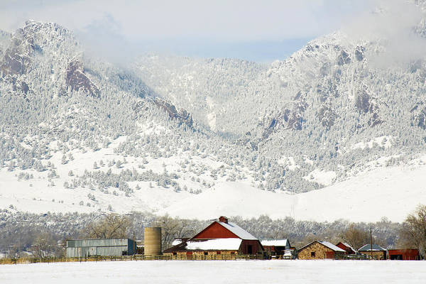 Photograph - A Flatirons Favorite by Marilyn Hunt