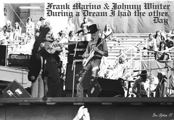 Photograph - A Frank And Johnny Daydream I Had by Ben Upham