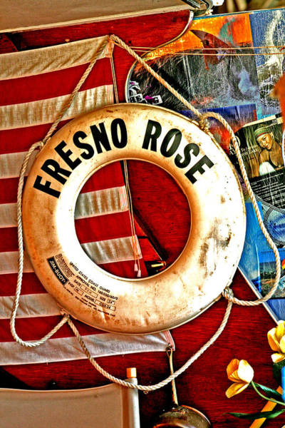 Photograph - My Fresno Rose by Joseph Coulombe