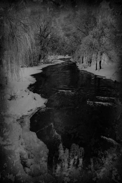 Wall Art - Photograph - A Frosty Winter Morning In Waupaca by Thomas Young