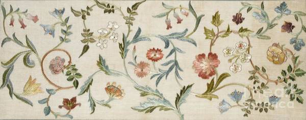 Wall Art - Tapestry - Textile - A Garden Piece by May Morris