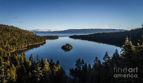 Emerald Bay Photograph - A Generic Photo Of Emerald Bay by Mitch Shindelbower