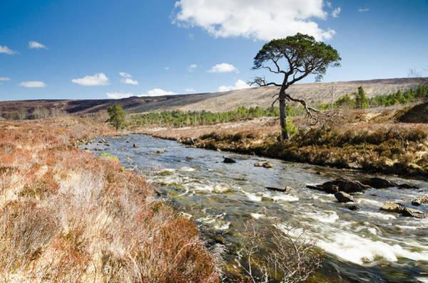 Beinn Eighe Photograph - A Ghairbhe River Flows Towards Kinlochewe by David Head