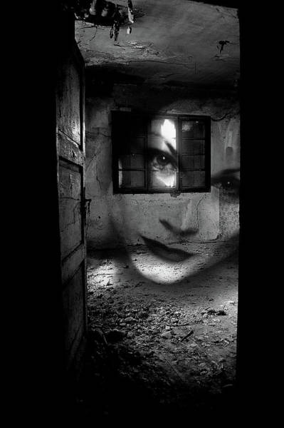 Wall Art - Photograph - A Ghost by Mirjana Kova??evi??