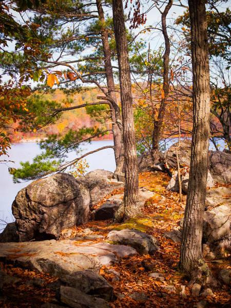 Photograph - A Glimpse Of Ramapo Lake by Jim DeLillo
