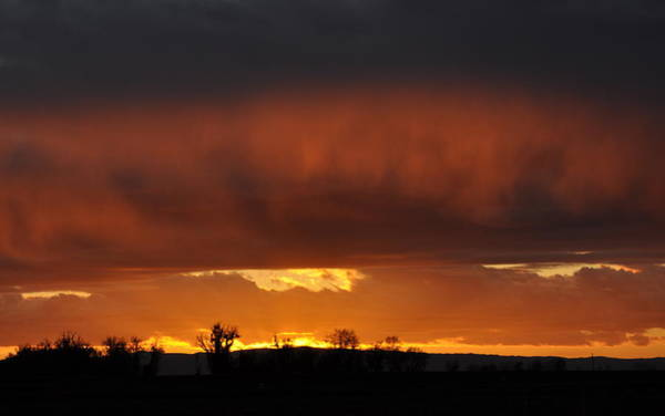 Photograph - A Glow On The Horizon by AJ  Schibig