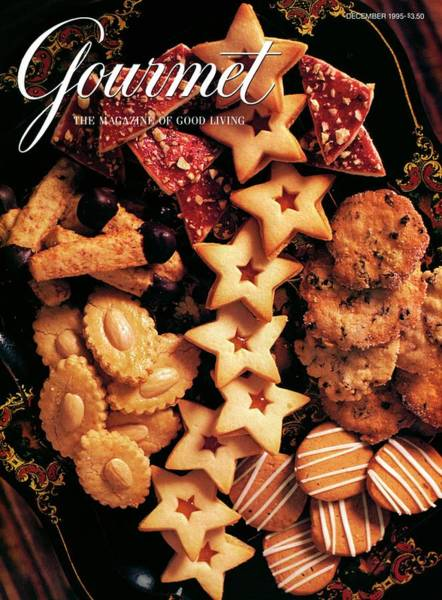 Tray Photograph - A Gourmet Cover Of Butter Cookies by Romulo Yanes