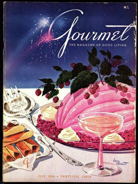 Champagne Photograph - A Gourmet Cover Of Mousse by Henry Stahlhut