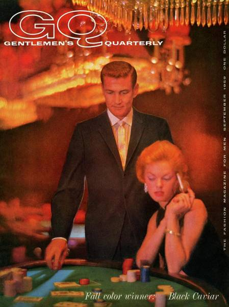Light Photograph - A Gq Cover Of Models At Casino De Capri In Havana by Richard Waite