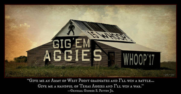 Wall Art - Photograph - A Handful Of Aggies by Stephen Stookey