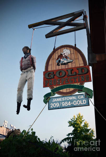 Photograph - A Hanged Man In Jamestown by RicardMN Photography