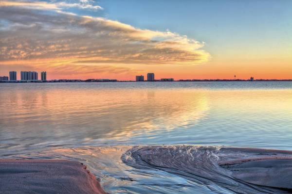 Dock Of The Bay Photograph - A Happy Ending In Navarre by JC Findley