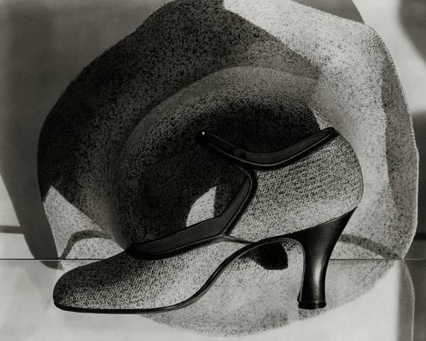 Photograph - A High Heel And A Hat by Edward Steichen