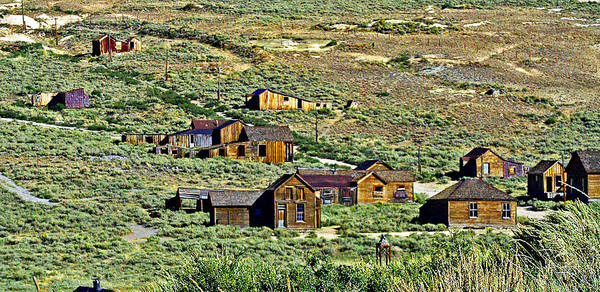 Photograph - A Hillside View Of Bodie by Joseph Coulombe