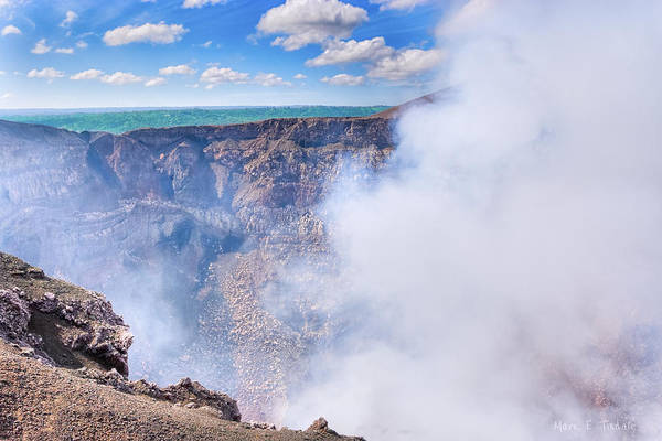 Wall Art - Photograph - A Hole In The Earth - Masaya Volcano by Mark Tisdale