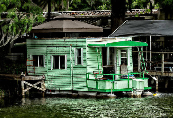 Photograph - A Home On The Water by Christopher Holmes