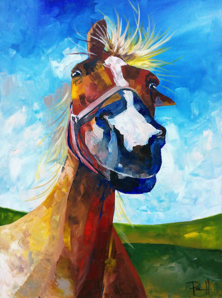 Painting - A Horse Of Course by Sean Parnell